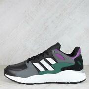 Mens Adidas Crazychaos Black/wh/gn Trainers 50c17 Rrp Andpound64.99
