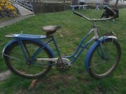 1946 Jc Higgins Model 505.218 Womenand039s/girls Bicycle With Original Paper Work