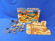 Vtg 1991 Micro Machines Military Wolf Ridge Battle Ground W/ Troops And Vehicles