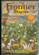 Frontier Stories Of Pioneer Days-summer 1940-boyhood Of The Daltons By Bill...