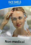 Lot 0f 3500pcs Set Of 4 Face Shield With Glasses Protection Cover