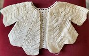 Antique Fancy Jacket For French / German Bisque Doll Or Vintage Doll