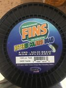 Fins 100lb 2400yards Multi-colors Braided Fishing Line. Made In Usa. 40 Off