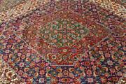10 X 12and0395 Breathtaking Semi Antique Mood Fish Design Hand Knotted Wool Area Rug