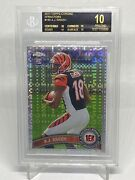 2011 A.j. Green Bgs 10 Black Label Topps Chrome Xfractor Rookie Rc 150 Pop1 Wow