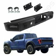 For 2015-1716 Ford F 150 Step Steel Rear Bumper Guard Protector+winch Pickup