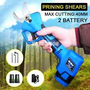 16.8v 40mm Cordless Lithium Electric Pruning Shears Garden Tree Secateur Trimmer