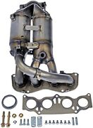 Exhaust Manifold With Integrated Catalytic Converter Fits 01-03 Highlander 2.4l