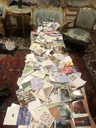 Huge Lot Of Vintage Greeting Cards From Animals To Christmas To Birthdays