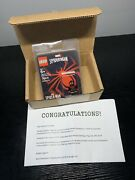 Lego Spider-man Miles Morales Minifigure Playstation 2020 Sweepstakes Rare Mint
