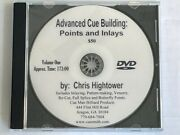 Advanced Cue Building Dvd Vol 1 How To Install Points And Inlays In Pool Cuesandnbsp