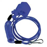 Tusk Power Pull Tether Kill Switch Blue - Fits Can-am Ds250 2007-2021