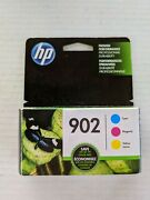 Genuine Hp 902 Color 3 Pack Cyan Magenta Yellow Exp 6/2022 Brand New Sealed
