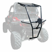 Tusk Utv Rear Bumper Cargo Rack And Spare Tire Carrier