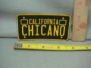 California License Plate Shape Chicano Patch Jacket Patch Hat Patch Shirt Patch
