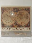 Springbok By Hallmark Map Of The World 1500 Piece Puzzle New In Package