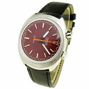 Omega Vintage Chronostop Geneve Driver Steel Mechanical Wristwatch 146.0009