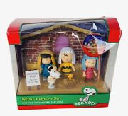 Peanuts Figures Charlie Brown Memory Forever Christmas Play Lucy Linus Snoopy