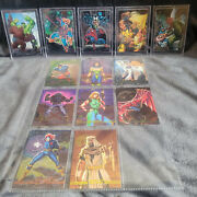 Marvel Masterpieces 1992/1993 Complete Sets With Foils
