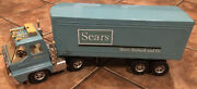 Vintage 1970s Ertl Sears Roebuck Co Truck Was Boxed Tractor Trailer No Rust