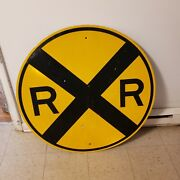 36 Rr Crossing Sign
