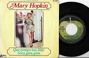 Mary Hopkin Beatles Single Spain Apple Records Different