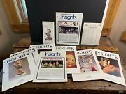 Goebel 1974 Collector Guide, Price List, 8 Issues Insights Club Magazine Hummel