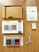 Nintendo 3ds Xl Nes Edition Silver Handheld System W/ Charger And Original Box