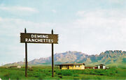 Deming Nm Deming Ranchettes Chrome New Mexico Postcard Real Estate Swindle