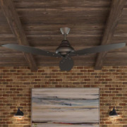 Outdoor 56 Large Industrial Propeller Ceiling Fan + Remote Unique Modern Patio