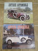 Lot Of 2 Antique Automobile Magazine Aaca Year 1972 +1983 Collectors Edition