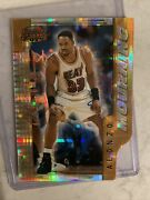 D511 Alonzo Mourning 1996-97 Bowmanand039s Best Cuts Atomic Refractor Bc8 Heat