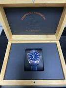 Omega Omega Planet Ocean Gmt 600m Waterproof Good Planet Ss Navy Boxed New