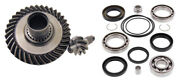 88-00 For Honda Trx300 Fourtrax Differential Ring Gear Pinion Gear Bearingand Seal