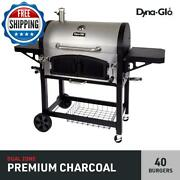Extra Large Barbecue Bbq Grill Charcoal Cooker Stainless Steel Portable Backyard