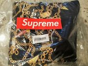 Supreme L Chains Quilted Jacket Black Authentic New With Tags Large +sticker