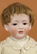"""Antique 19"""" 141 Hertel Schwab German Bisque Doll With Fully Jointed Compo Body"""