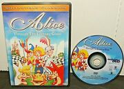 Alice Through The Looking Glass Dvd 1987 Jonathan Winters Htf Oop 2004 Reprint