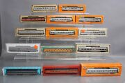 Con-cor N Scale N Assorted Passenger Cars [13] Ex/box
