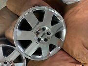 Used 17x7.5 Factory Chrome Lincoln Rims