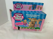 Littliest Pet Shop Magic Monkey And Treehouse Kenner 1992 Defect/incomplete