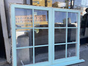 Double Casement Window Tempered Glass