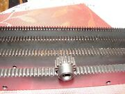 Cnc Plasma Table Mech Rack And Gear 96 Rack 4x24pcs And A 12t 5/16 Pinion Gear