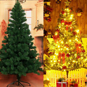 6ft Green 1200 Pines Artificial Christmas Xmas Tree W/ 300 Led Warm White Lights