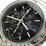 Omega Speedmaster Date Chronograph Auto Menand039s Black Dial 3513.50 Watch Omega