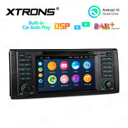 7 Android 10 32gb Car Gps Dvd Radio Stereo Car Auto Play Rca Dsp For Bmw E39