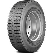 4 New Goodyear Marathon Rtd 295/75r22.5 Load H 16 Ply Drive Commercial Tires