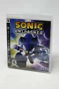 Sonic Unleashed - Ps3 Playstation 3 Sega Adventure Game - New Sealed Promo Copy