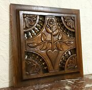 Fertile Amour Love Spindle Carving Panel Antique French Architectural Salvage