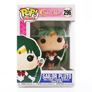 Funko Pop Animation Sailor Moon - Sailor Pluto Vaulted With Soft Protector
